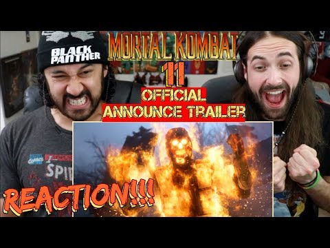 MORTAL KOMBAT 11 - Official Announce TRAILER REACTION!!! thumbnail