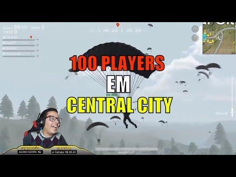 100 PLAYERS EM CENTRAL CITY - BATTLEGROUNDS