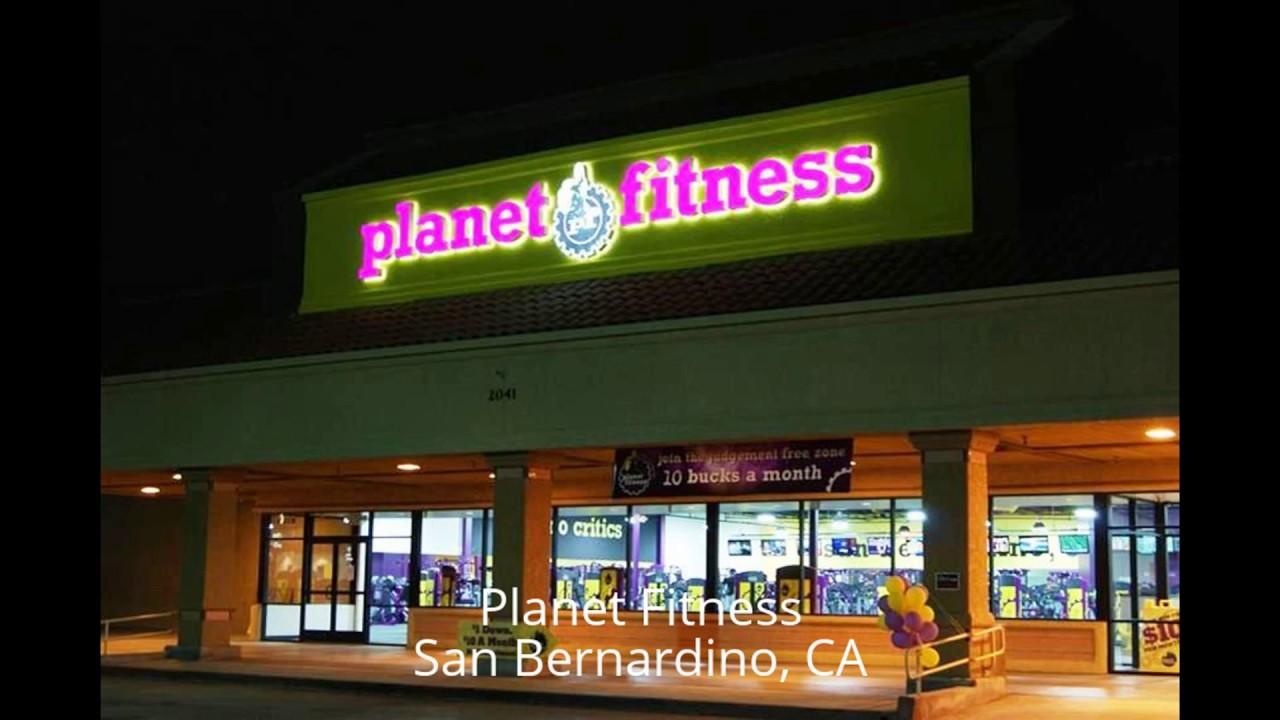Planet fitness san bernardino