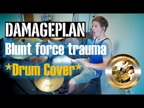 Damageplan - Blunt Force Trauma **Drum Cover by Timo**