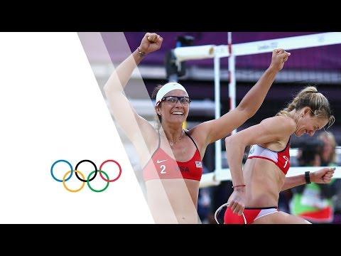 Women's Beach Volleyball Semi-Finals - USA V CHN | London 2012 Olympics