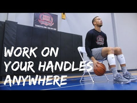 Work On Your Handles Anywhere | Ball Handling Chair Workout (Vol. 1)
