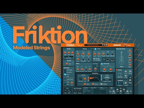 Introducing Friktion Modeled Strings