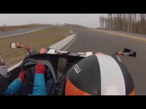 Bilster Berg SiTecKo KTM X-BOW R mit Christopher Haase - Einführungsrunde onboard