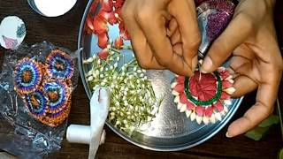 how to make real flower jewelry for mehndi and other fucntions new
