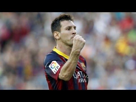 Barcelona venció a Almería con un gol de Messi y es puntero