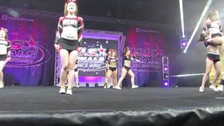 US Finals PA Heat Senior 4 Blackout 2017