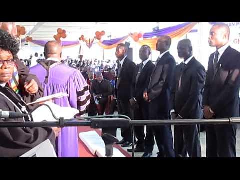 A.M.E Zion East Ghana Conference Ordination Part 1