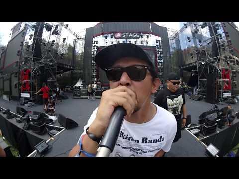 BURGERKILL soundchecking at Soundrenaline Bali 2018.