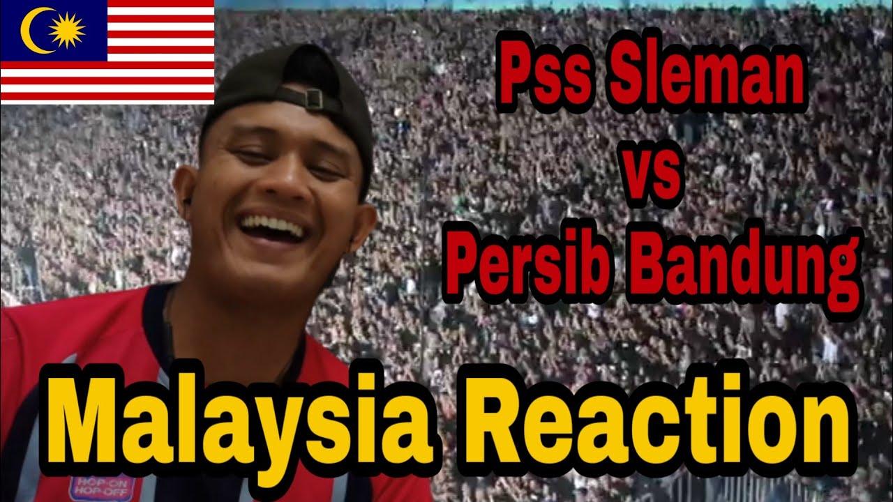 Download Aksi BCS!!! Pss Sleman vs Persib Bandung / Malaysia Reaction