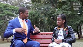 Interview with my 11 year daughter on The Spot- Africa Development Journey #InnovativeVolunteerism