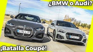 ¡Batalla Coupé! | Review / Comparativa BMW Serie 4 vs Audi A5 Coupé