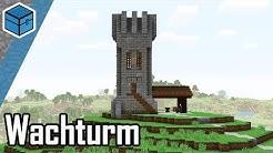 Minecraft Turm bauen | Minecraft Wachturm bauen deutsch