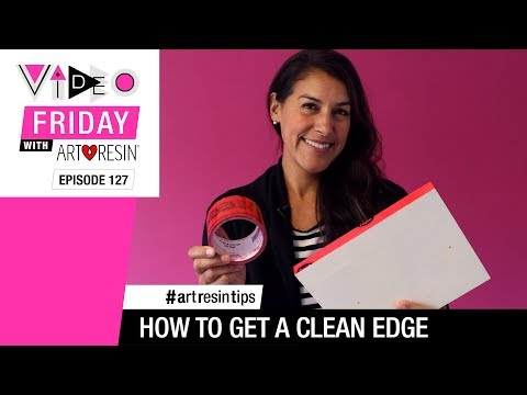 How To Get A Clean Epoxy Resin Edge