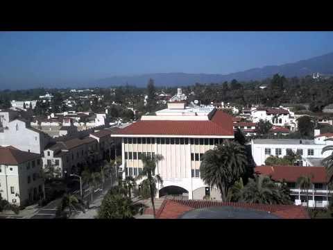 Santa Barbara courthouse tower