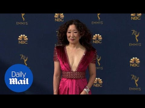 Emmy Nominee Sandra Oh commands 2018 Emmys red carpet