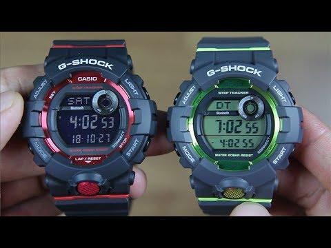 7788756c6 CASIO G-SHOCK GBD-800-1 VS GBD-800-8 - YouTube
