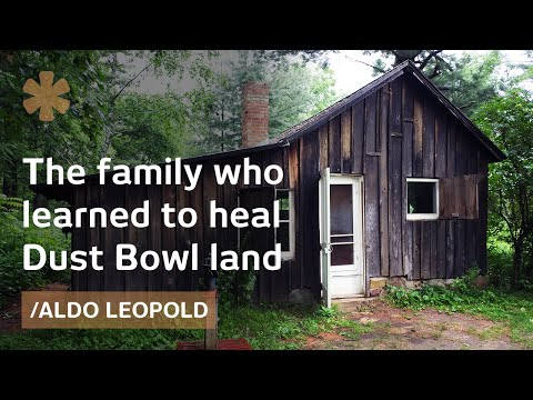 A Dust Bowl chicken coop became Aldo Leopold's beloved house
