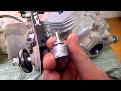 Обзор заднего редуктора Renault Duster и Nissan Terrano