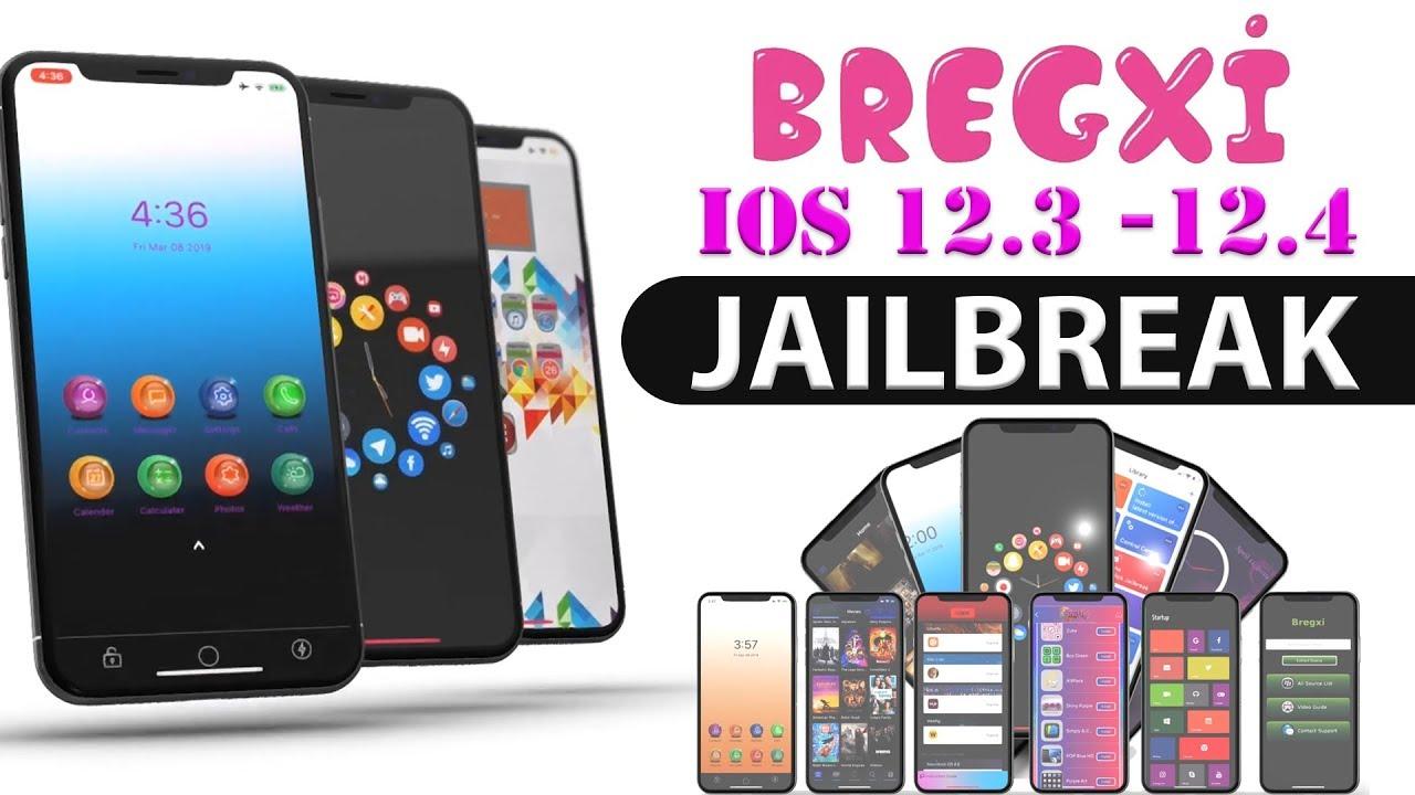 Bregxi jailbreak iOS 12.3 - 12.4 (Updated) - YouTube