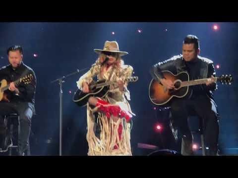 Lady Gaga Cries While Performing Joanne Guitar Trio  Joanne Tour  in Vegas  81117 HD