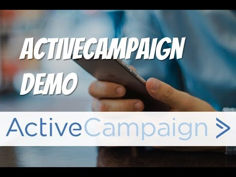 ActiveCampaign Demo - And Why it's the Best Bang for your Marketing  Automation Buck