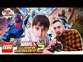 Папа РОБ и Ярик LEGO MARVEL SUPERHEROES 2 Часть 1 mp3