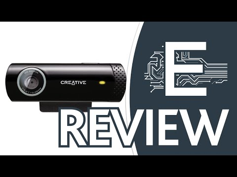 Creative Live! Cam Chat HDc 5.7MP Webcam (Black) Quick View