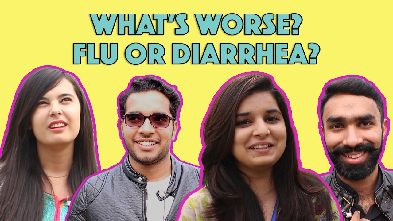Bolo Pakistan | What's Worse - Flu or Diarrhea? | MangoBaaz