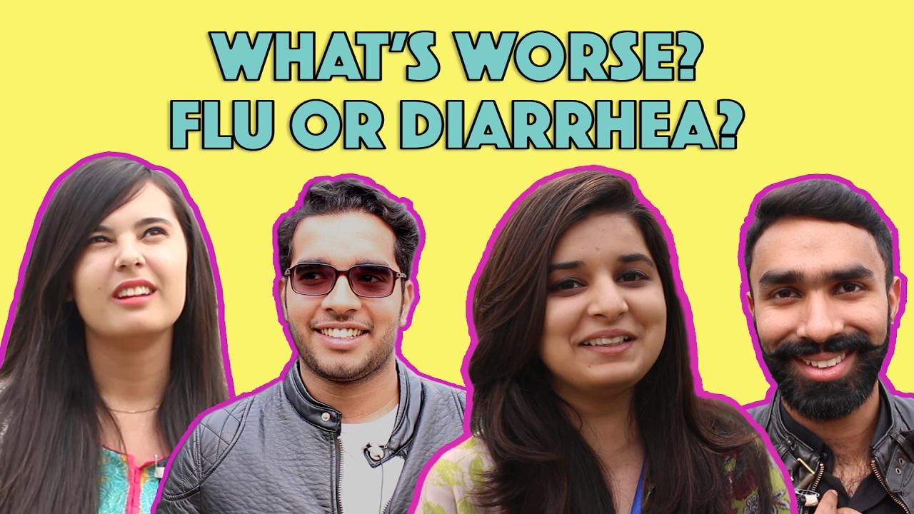 Bolo Pakistan | What's Worse - Flu or Diarrhea? | MangoBaaz