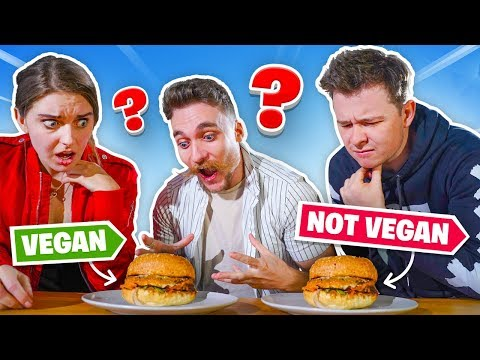 VEGAN vs MEAT CHALLENGE with CLICK!