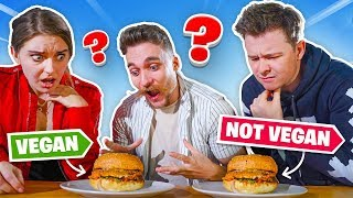 VEGAN vs MEAT CHALLENGE with CLICK!