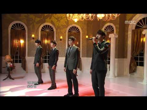 2AM - I Wonder If You Hurt Like Me, 투에이엠 - 너도 나처럼, Music Core 20120317
