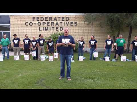 Federated Co-op Winnipeg - ALS Ice Bucket Challenge!!!
