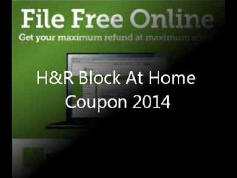 H&r block discount coupons 2019
