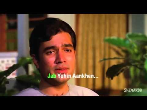 Kahin Door Jab Din Dhal Jaye. कही दूर जब दिन ढल जाये.فلما كان اليوم لإنفاقها  Old Hindi Songs