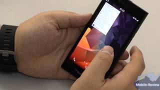 Видеообзор BlackBerry Leap