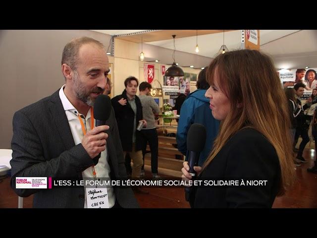 L'ESS ça sert à quoi ?  L'ESS, le forum de l'économie solidaire et sociale à Niort