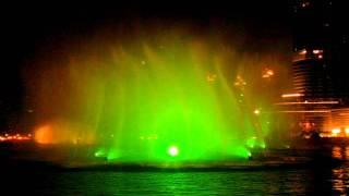 ОАЭ. Дубай. Поющие фонтаны.3gp Dubai Emirates
