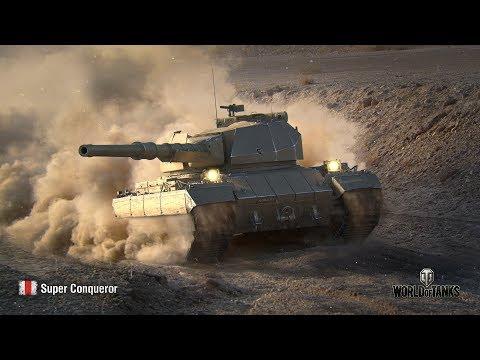 Танкосмотр2019 #33. Британия. Тяжелые танки (веткa Super Conqueror) | World of Tanks