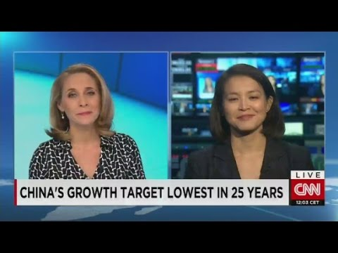 China's growth lowest in 25 years