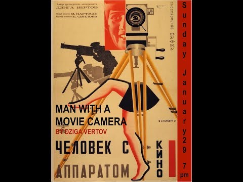Chelovek S Kinoapparatom (Man With A Movie Camera) (1929) Full Film