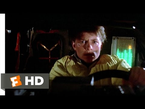 Back to the Future (3/10) Movie CLIP - Back in Time (1985) HD
