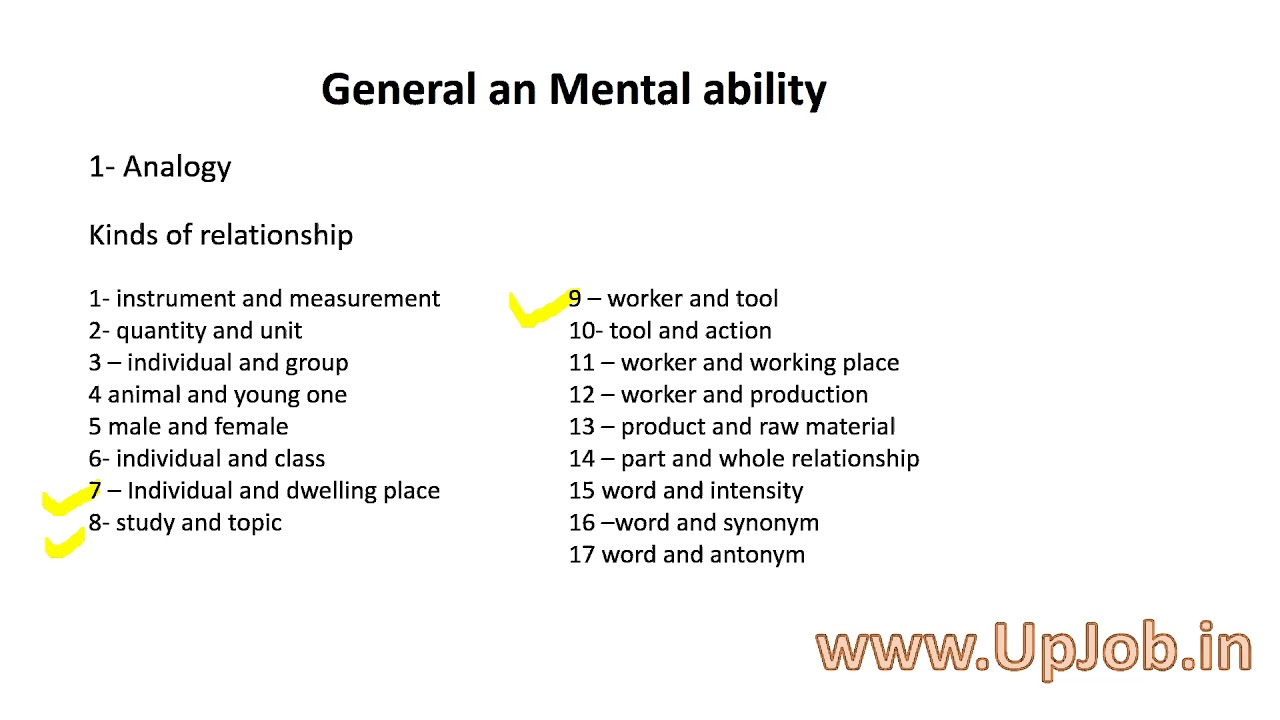 Analogy General An Mental Ability Reasoning Youtube