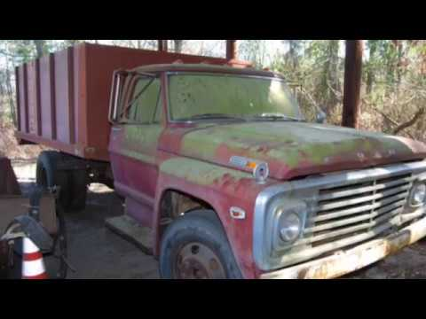 1970 ford f600 dump truck for sale south carolina auction youtube. Black Bedroom Furniture Sets. Home Design Ideas