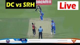 LIVE Cricket Scorecard DC vs SRH | ipl 2020 live score | Delhi Capitals - Sunrisers Hyderabad
