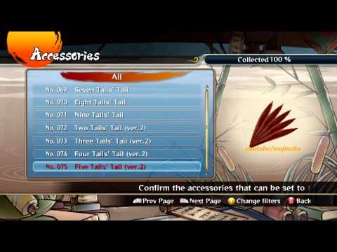 Naruto Ultimate Ninja Storm Revolution - All Custom