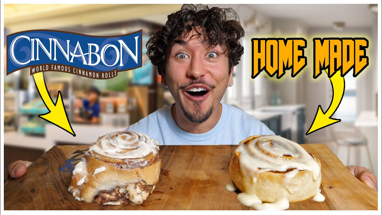 I Followed Cinnabon Recipes AT HOME... *TASTE TEST*