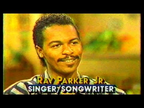 Ray Parker Jr. 1984 Interview talks his new hit song Ghostbusters
