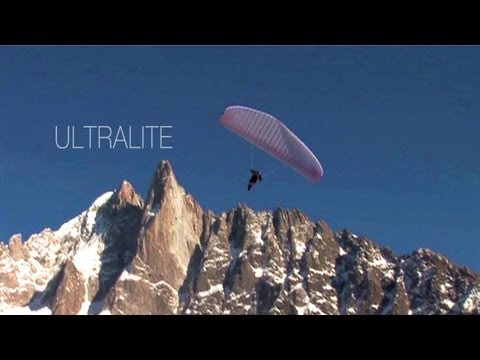 Ozone ULTRALITE - Advertising clip - Lightest certified paraglider in the world